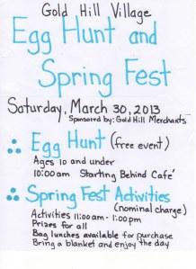 GH egg hunt 2013