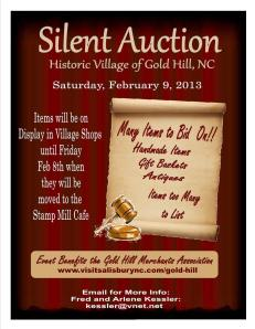 Silent Auction 2013 for web
