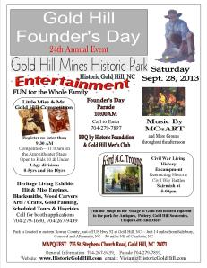 Gold Hill Founder's Day