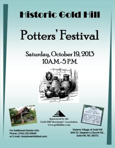 Potters' Festival 2013 & add graphics