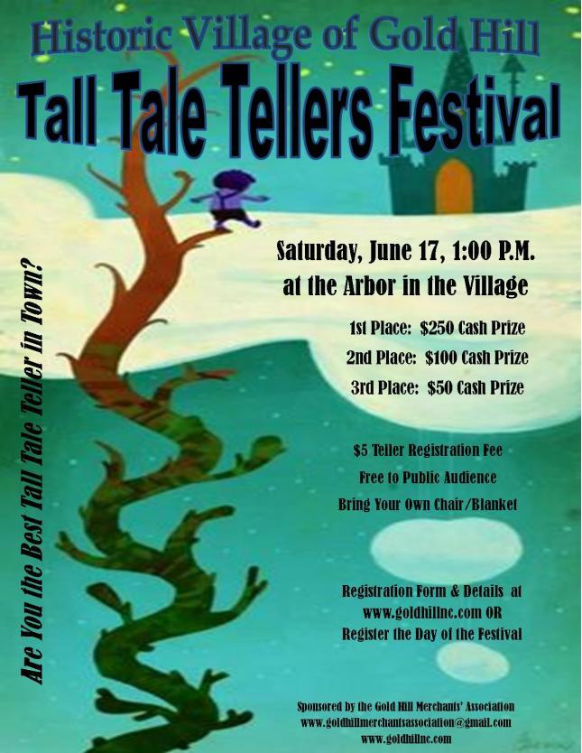 Tall Tale Tellers Flyer 2017