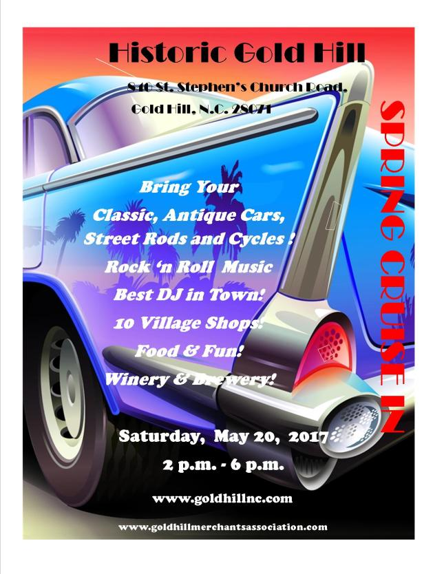Spring Cruise In 2017 Flyer