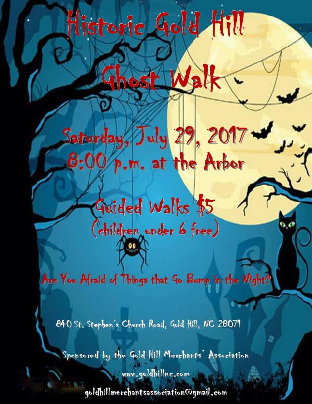 Ghost Walk Flyer 2017