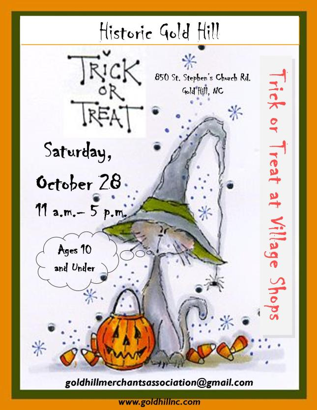 Trick or Treat Flyer 2017