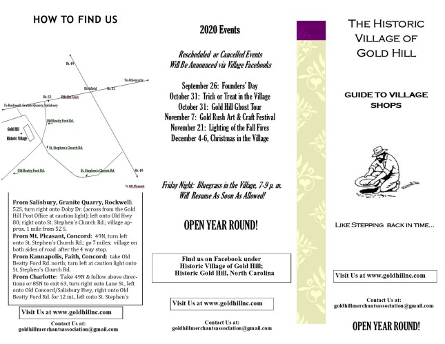 Village Shop Brochure A (July 2020)